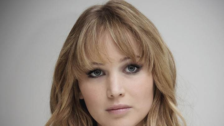 Jennifer Lawrence Cute Eyes Face Closeup